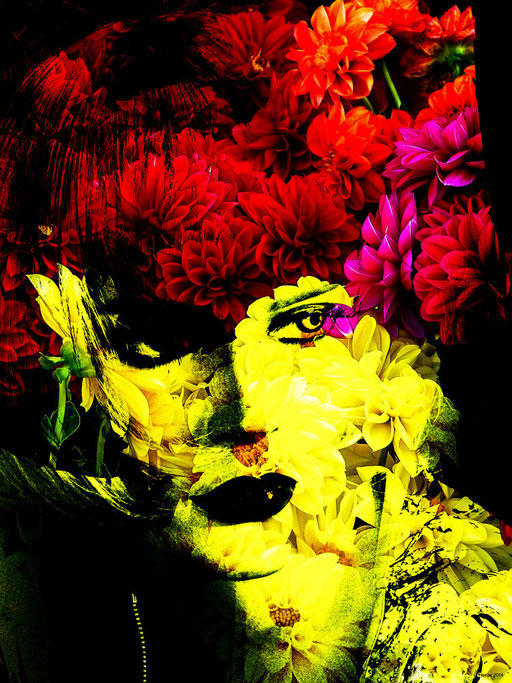 Flower woman 3
