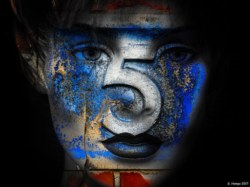 The face and five