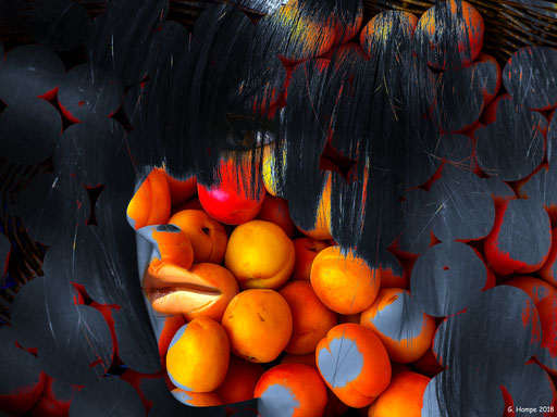 The woman with the oranges