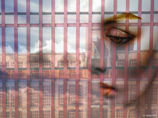 The face and the Speicherstadt