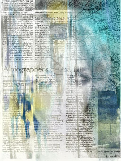 Inside the newspaper