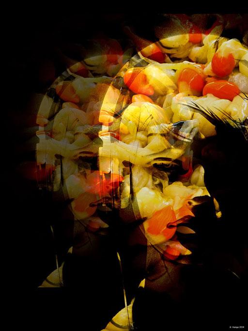 Seashell woman