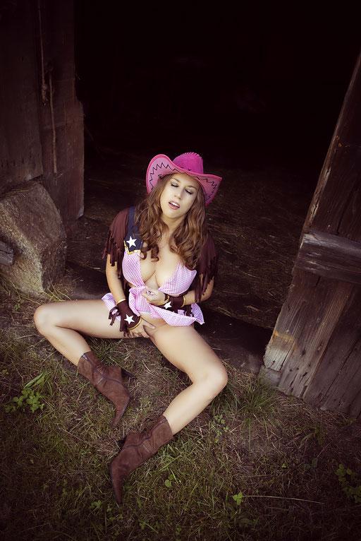 Krystina, auf dem Bauernhof