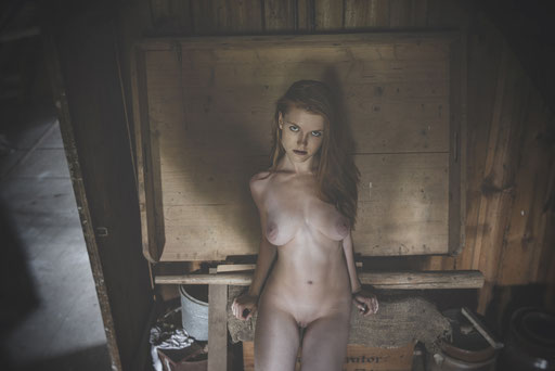 Tereza, auf dem Bauerhof