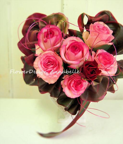 パリスタイル ギフト フラワーアレンジメント FlowerDesign Annabelle