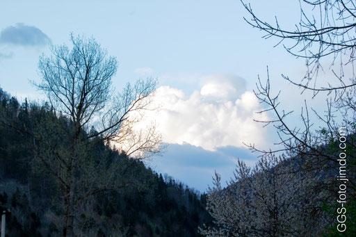 Россия, Адыгея. Гузерипль. Гора или облако?