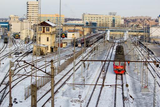 Россия. г. Ростов-на-Дону. Пригородный железнодорожный вокзал.
