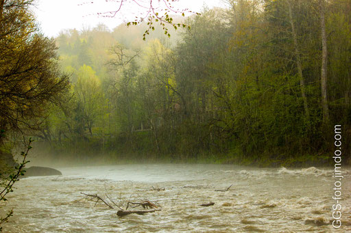 Россия, Адыгея. Гузерипль. Река Белая.