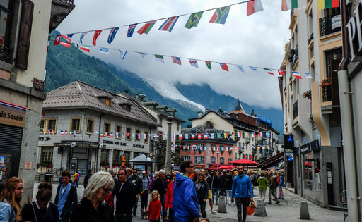 A lot of people had been in Chamonix, too growded indeed. We'll experience the opposite in the common week!
