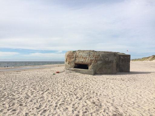 Nur einer von vielen Bunkern