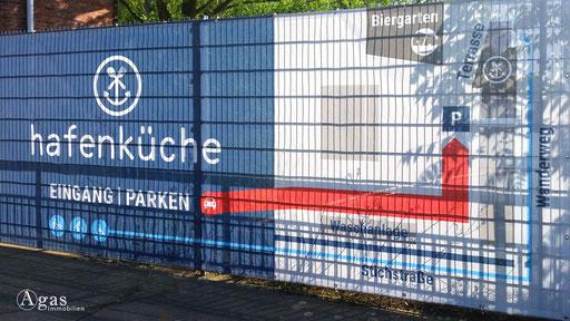 Berlin-Rummelsburg - Eingang zur Hafenküche