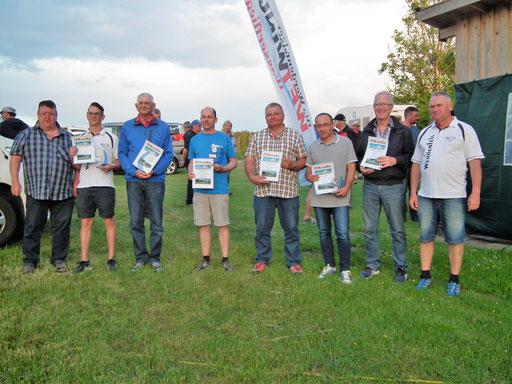 Die Sieger der Klassen F3A, F3A-B & F3A-C