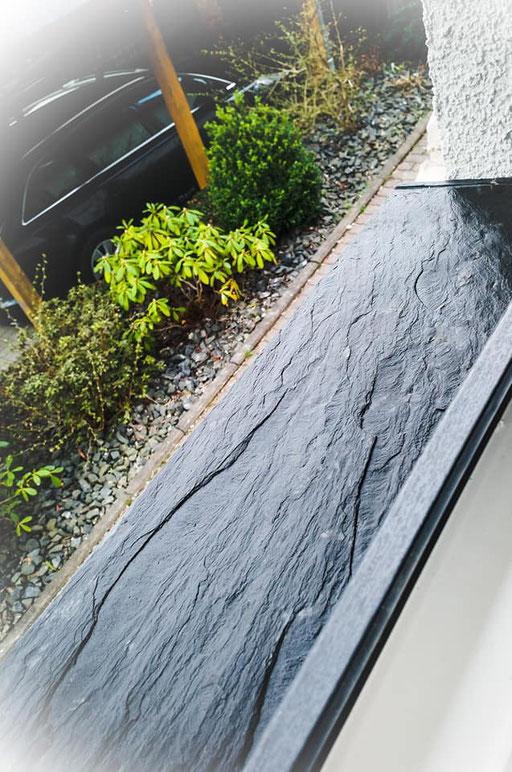 Fensterbänke aus Schiefer \