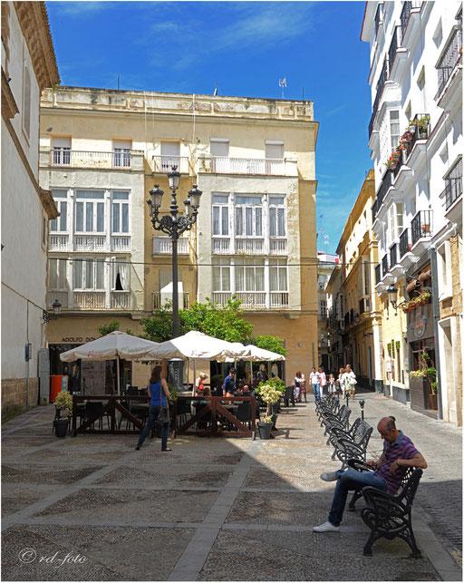 Altstadt Cadiz, Spanien