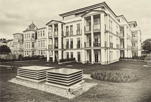 Wilhelminische Jugendstil Villa, Ahlbeck