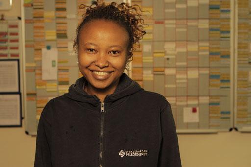 Margaret Njoroge, Gesundheitspflegeassistentin