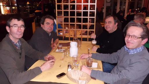 Repas du soir à l'expo d'Onet-le-Château 2013