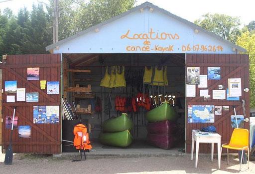 Base de Canoe Jaligny