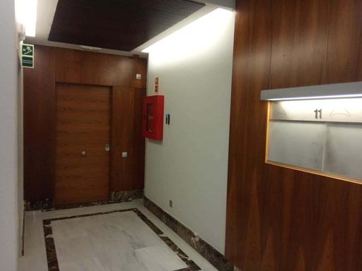 Control de acceso interior (II)