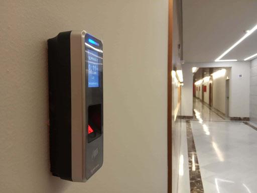 Detalle de control de acceso interior (I)