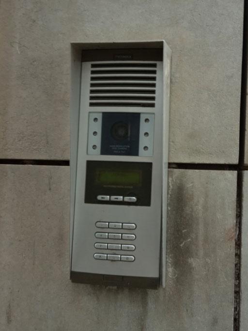 Instalación videoportero interior anterior Fermax