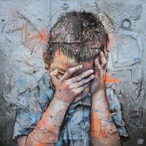 """<alt=""""art graffiti streetart graffmatt écologie planète terre préserver fondation good planet paris notorious brand festival gravity recyclage quelle terre laisserons-nous aux générations futures yann arthus bertrand art climat streetart graffiti"""">"""