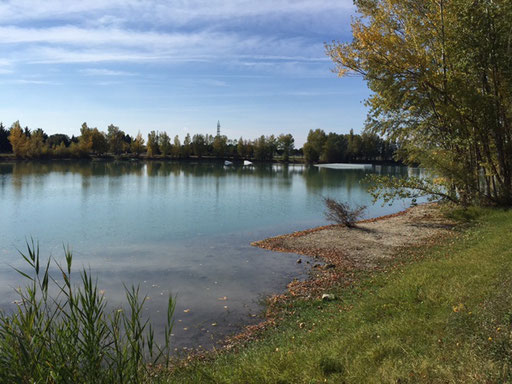 Lake near by