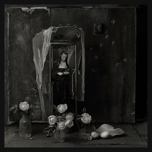 Les Oratoires Domestiques: Une Tonnelle en Peau de Nem, 40X40cm, 2016