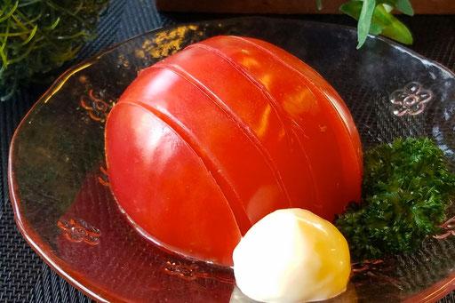 トマトスライス  350円