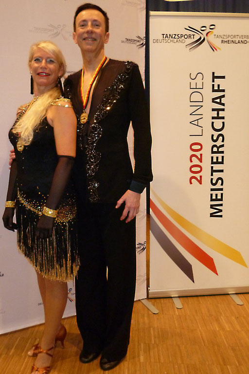 Marc Watgen und Vera Predige