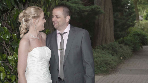 bruidsreportage (Sandra & Michael in Avifauna)