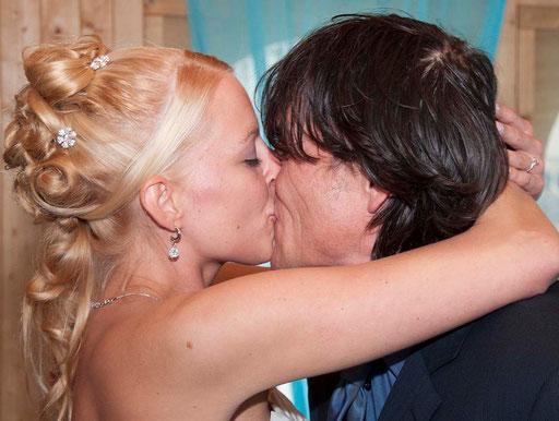 bruidsreportage (trouw kappel strand Scheveningen)