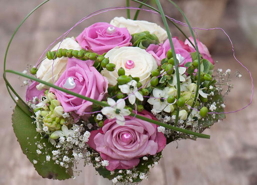 trouwreportage (trouwboeket)