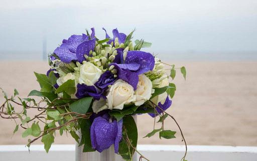 bruidsreportage (trouwboeket)