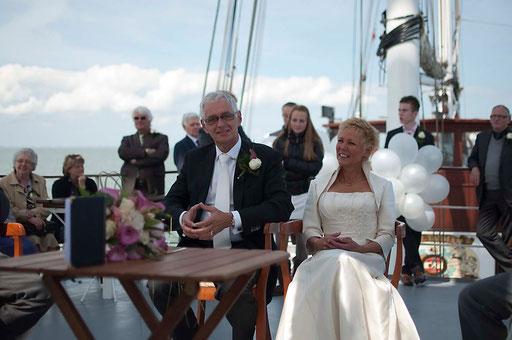bruidsreportage (huwelijksinzegening)