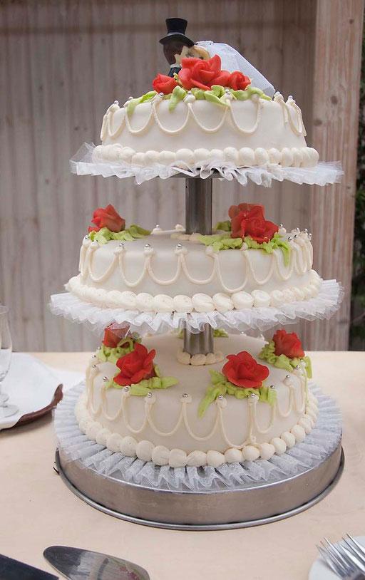 trouwreportage (bruidstaart)