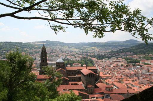 Le Puy en Velay et la cathédrale Notre Dame