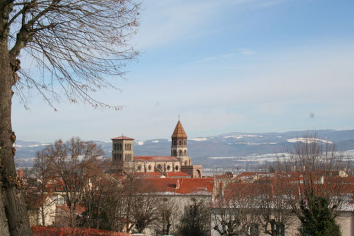 Brioude et la basilique Saint Julien
