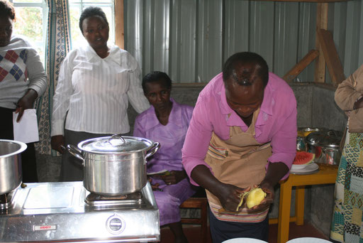 Parent training - food preparation and feedingParent training - food preparation and feeding