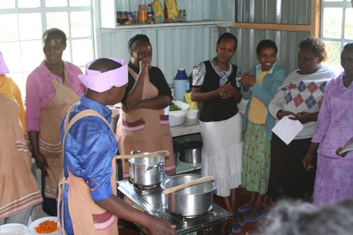 Parent training - food preparation and feeding