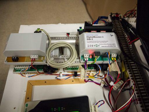 Die Verbindung von Anlage und Computer.