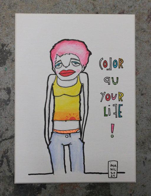 COLOR UP YOUR LIFE *Original im Shop*2021