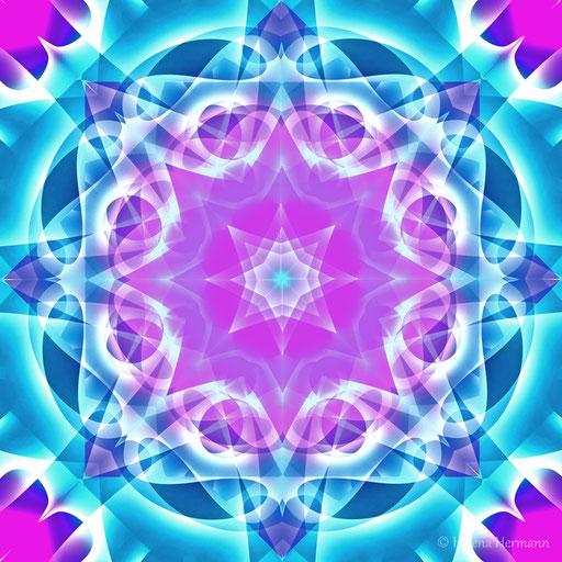 Mandala Nr. 5, Computergrafik, 2009