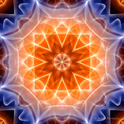 "Mandala ""Sternentor"", Computergrafik, 2009"