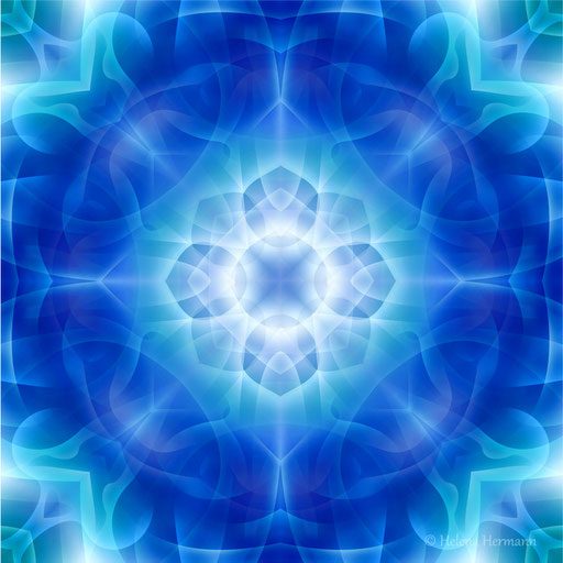Mandala Nr. 7e, Computergrafik, 2009