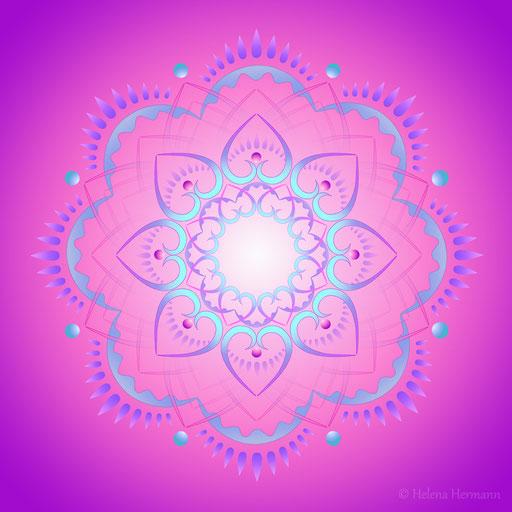 Mandala Nr. 40, Computergrafik, 2009