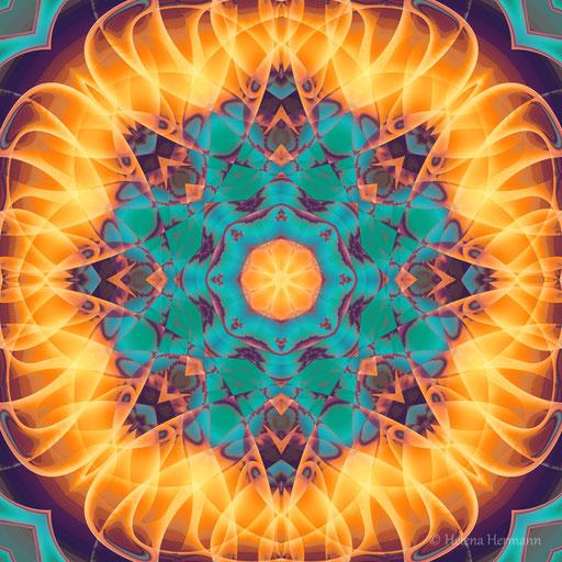 """Mandala """"Kaleydoskop"""", Computergrafik, 2009"""