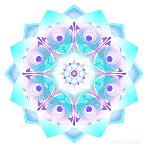 Mandala Nr. 21, Computergrafik, 2009