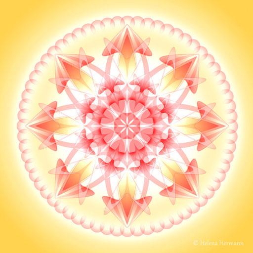 Mandala Nr. 19, Computergrafik, 2009