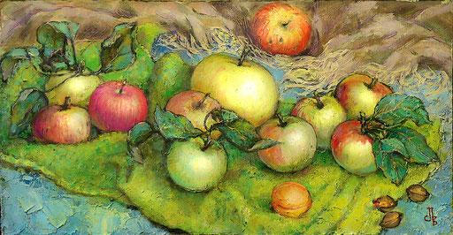 яблочки, 45х25 ,м.,орг.